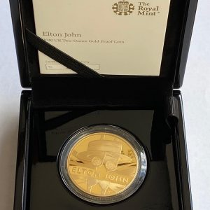 2020 Elton John Gold Proof Two Ounce £200