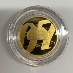 2020 James Bond Pay Attention 007 Gold Proof Two Ounce £200 – Series II