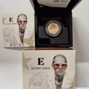 2020 Elton John Gold Proof Quarter Ounce £25