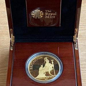2013 Gold Proof Five Ounce Britannia £500