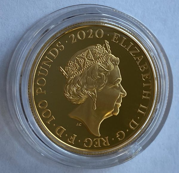 2020 James Bond Shaken Not Stirred Gold Proof One Ounce