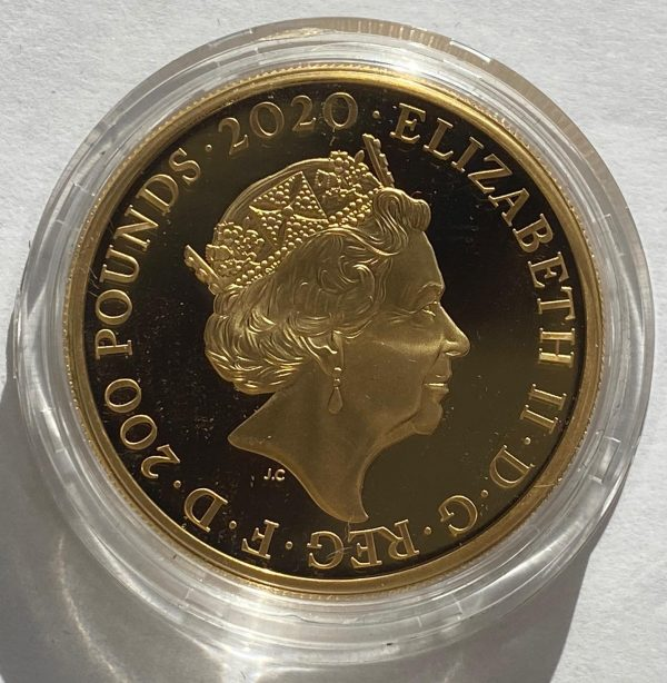 2020 James Bond Shaken Not Stirred Gold Proof Two Ounce
