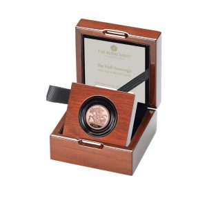 2021 Gold Proof Half Sovereign