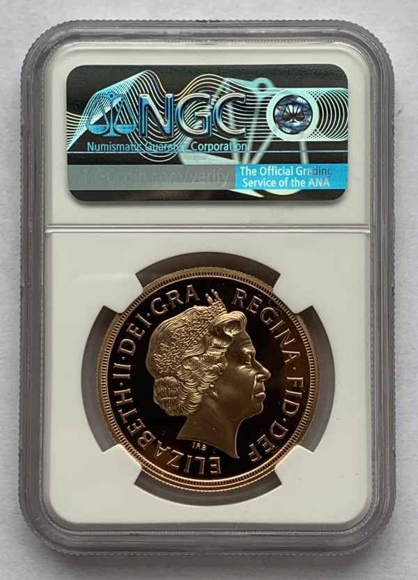 2012 5 Coin Gold Proof Sovereign Set PR70