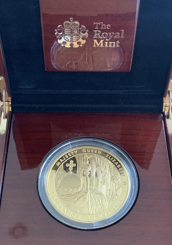 2013 Coronation Gold Proof Five Ounce £10