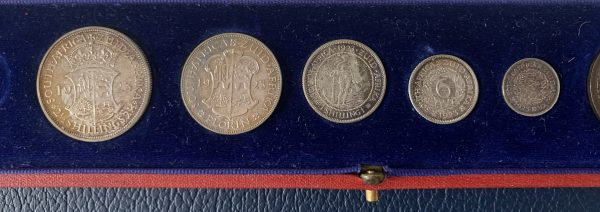 1923 South Africa Proof Set