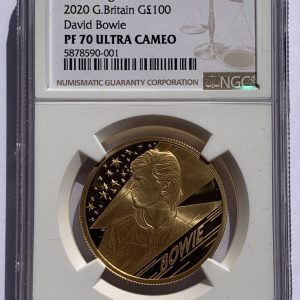 2020 David Bowie Gold Proof One Ounce PR70