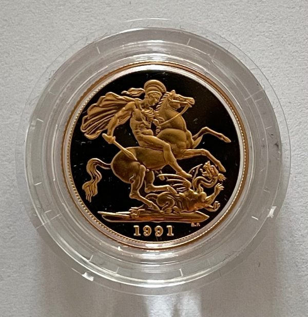1991 Gold Proof Sovereign