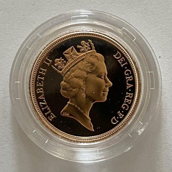 1992 Gold Proof Sovereign