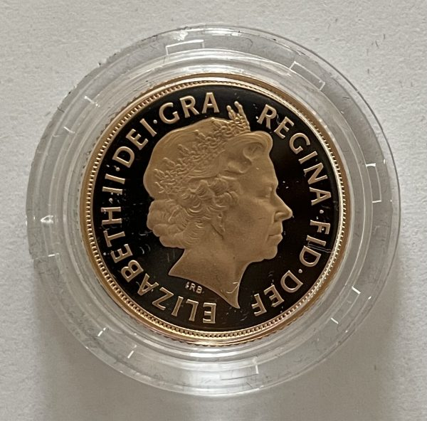 2013 Gold Proof Sovereign