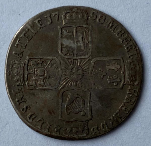 King George IV Silver Sixpence