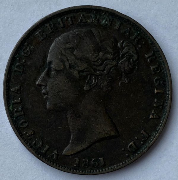 1861 States of Jersey 1/26 of a Shilling