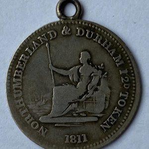 1811 Silver Trade Token