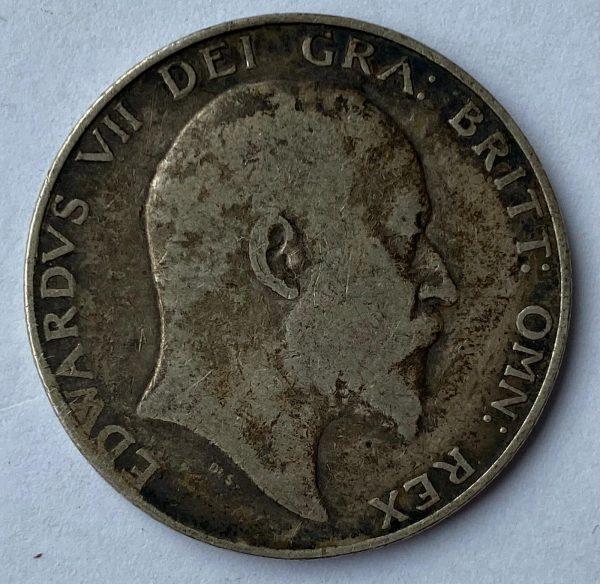 1903 Edward VII Silver Half Crown