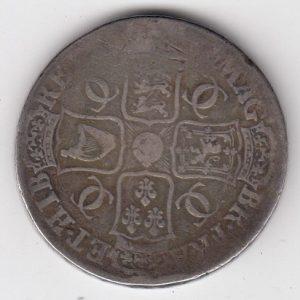 King Charles II Silver Crown