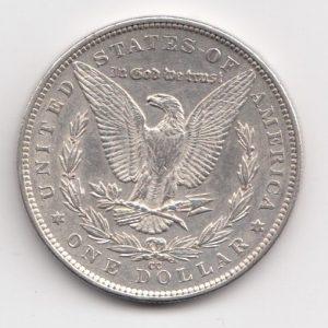 1891 US Carson City One Dollar