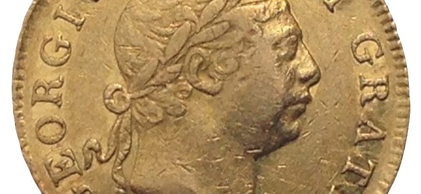 1813 George III Gold 'Military' Guinea Obverse
